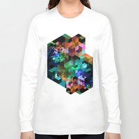 tetris Long Sleeve T-shirts featuring TETRIS by Creative Streetwear