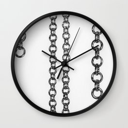 Chains II Wall Clock