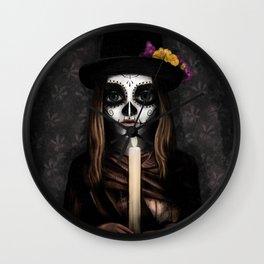 Día de los Muertos Wall Clock