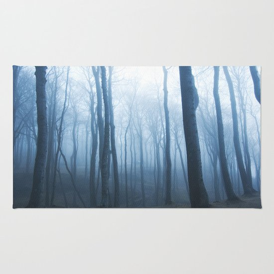 Foggy Woods #society6 #buyart Rug