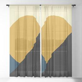 Summer - Geometric Sheer Curtain