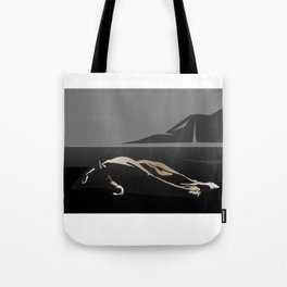 Silhouette of a Dog Tote Bag