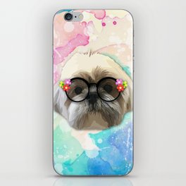 shizhu Dog 4 iPhone Skin
