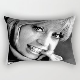 YOUNG GOLDIE HAWN Rectangular Pillow