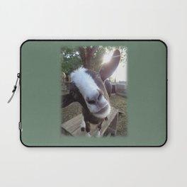 Goat Barnyard Farm Animal Laptop Sleeve