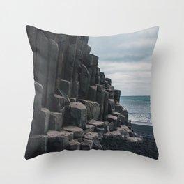 Reynisfjara, Iceland Throw Pillow