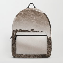 The mountain beyond the forest Backpack