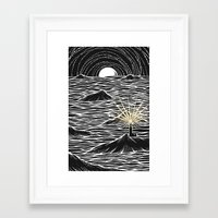 lighthouse Framed Art Prints featuring Lighthouse by barmalisiRTB