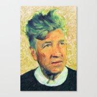 lynch Canvas Prints featuring Lynch by Taylan Soyturk
