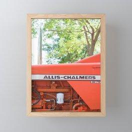 Allis - Chalmers Vintage Tractor Framed Mini Art Print