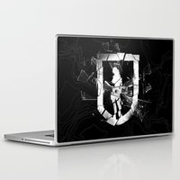 tomb raider Laptop & iPad Skins featuring Tomb Raider II. by 187designz