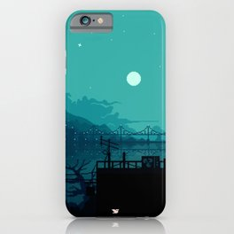 Dark Harbor iPhone Case