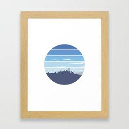 New York in the Spring Framed Art Print
