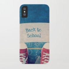 Back to school Slim Case iPhone X