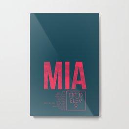 MIA II Metal Print