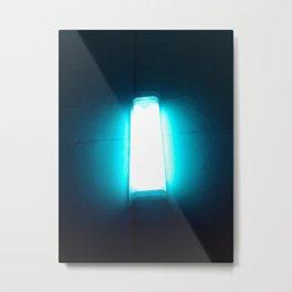 Lantern on the wall Metal Print