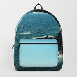 A Blue View Backpack