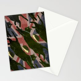 Black cat & Hedgehog/(Sherlock&John?) Stationery Cards