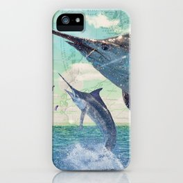 Catch a Marlin if You Can iPhone Case