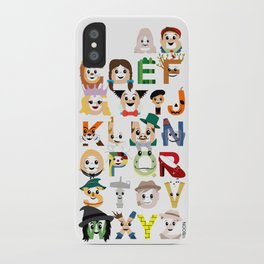 Oz-abet (an Oz Alphabet) iPhone Case