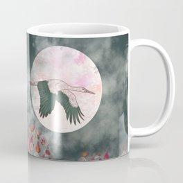 Moonlight Stork Coffee Mug