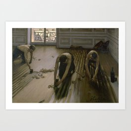 Gustave Caillebotte - The Floor Planers Art Print