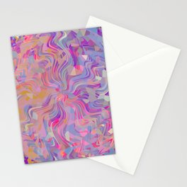 Electrified Crystal Ball Stationery Cards