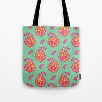 pastel Tote Bags featuring Pastel by Arcturus