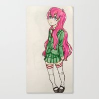 anime Canvas Prints featuring anime  by ArtGuts