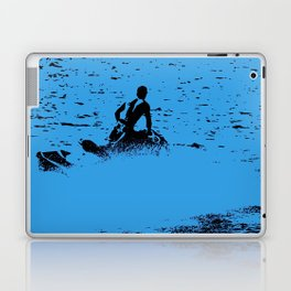 Blue Waters - Jet Ski Fun Laptop & iPad Skin