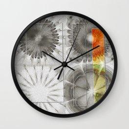 Rearisal Woof Flower  ID:16165-041512-61251 Wall Clock
