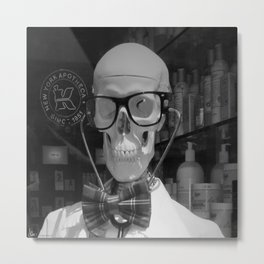 Mad Doc Metal Print