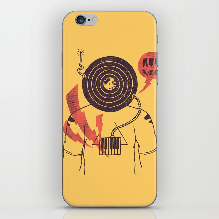 The Vinyl Frontier (alternate) iPhone Skin