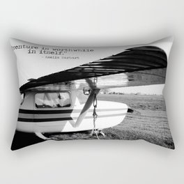 Adventure is Worthwhile in Itself Rectangular Pillow