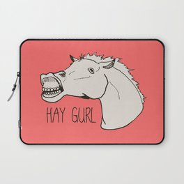 HAY GURL. Laptop Sleeve