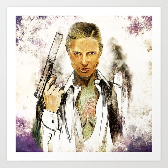 License to kill Art Print