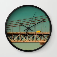 Bridge Lisbon Wall Clock