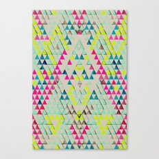 TRIANGLE SUMMER Canvas Print