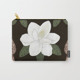 Magnolia grandiflora Carry-All Pouch