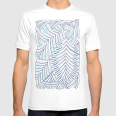 Markings 2 White Mens Fitted Tee MEDIUM