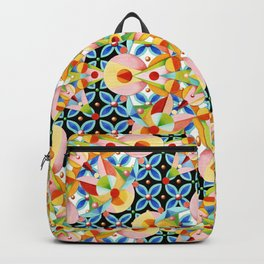 Elizabethan Pastel Mandala Backpack