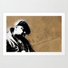 The Notorious B.I.G. - Biggie Smalls Art Print