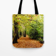 Autumn in the Forest Tote Bag