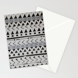 Gray Lines Stationery Cards