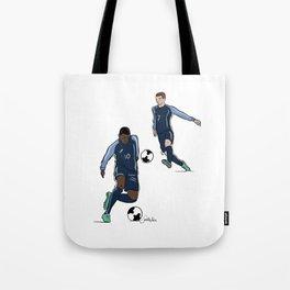 Fifa World Cup Champions Mbappé & Griezmann France Tote Bag