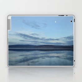 Klamath Lake reflecting clouds Laptop & iPad Skin