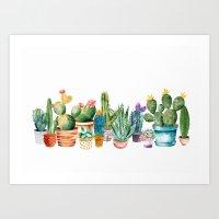 Cactus 12ab Art Print