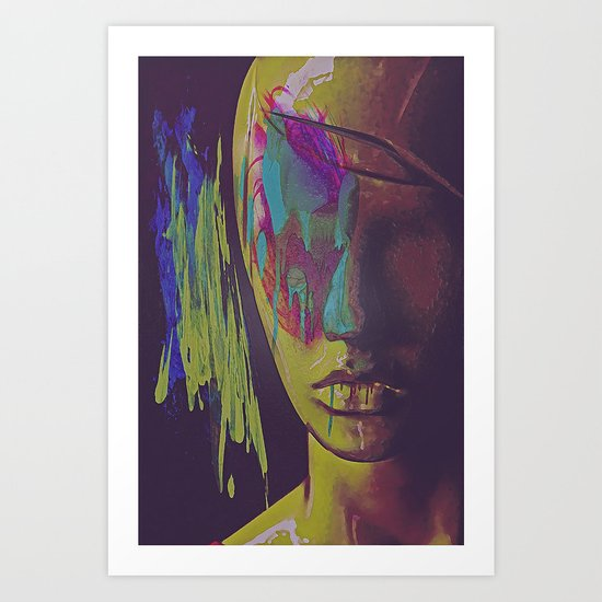 Judgement Figurative Abstract Art Print