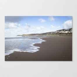 Seaside Town Canvas Print