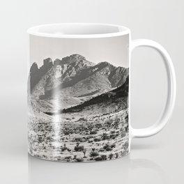 The Lost Highway III Black & White Coffee Mug
